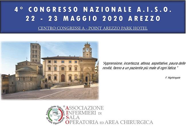 IV Congresso Nazionale A.I.S.O. Arezzo 22-23 Maggio 2020