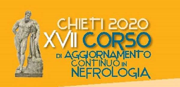 XVII Corso di Aggiornamento Continuo in Nefrologia Chieti 2020