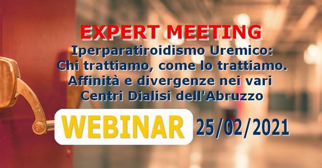 Iperparatiroidismo Uremico: Chi Trattiamo come lo trattiamo. Affinità e divergenze nei vari Centri Dialisi in Abruzzo 25/02/2021