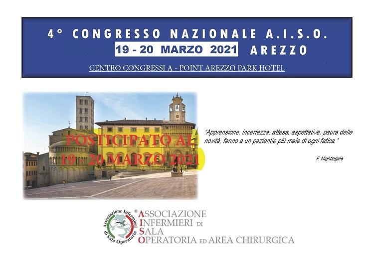 IV Congresso Nazionale A.I.S.O. Arezzo 19-20 Marzo 2021